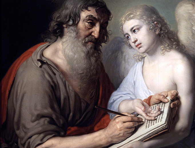 "Vladimir Borovikovsky (1757-1825), ""Saint Matthew the Evangelist"""