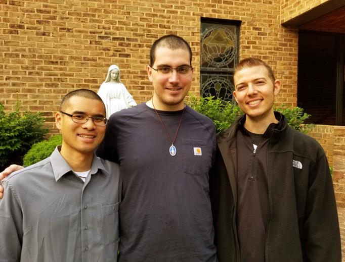 L to R: John Nguyen, Daniel Marcum, Patrick Brennan