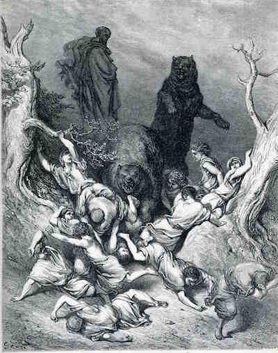 Elisha and the bears.