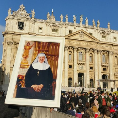 Remembering Mother Angelica at the Vatican on March 30, 2016.