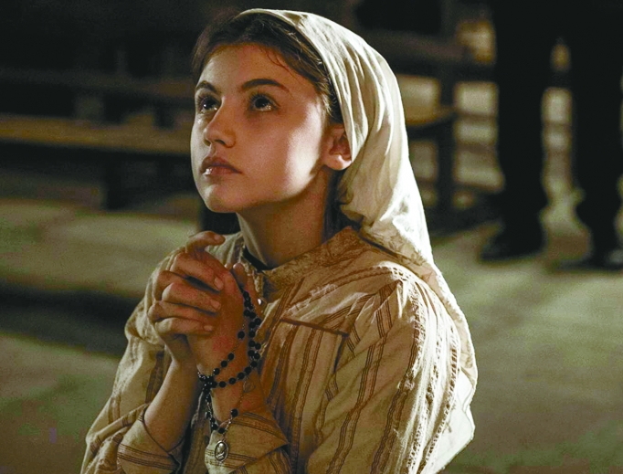 Stephanie Gil brings to the character of Lucia the intense inner suffering Lucia would have to endure for so many years following the Fatima visions.