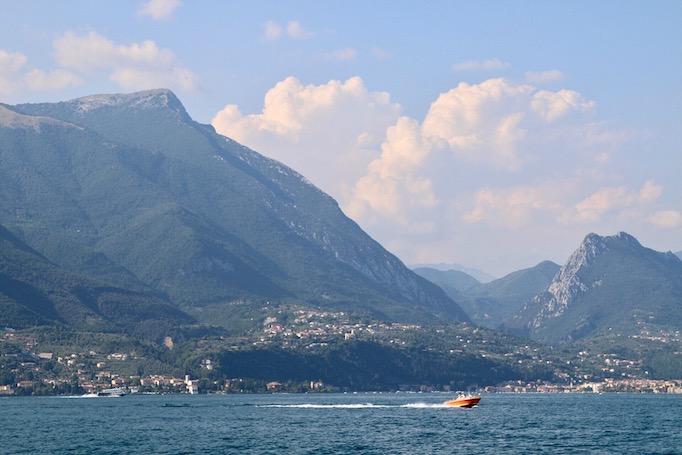 A view of Lake Garda, July 10, 2017.