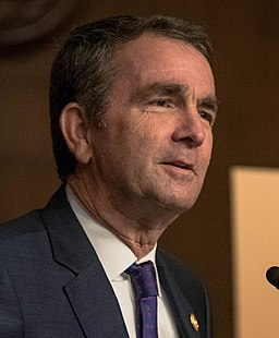 Virginia governor Ralph Northam.