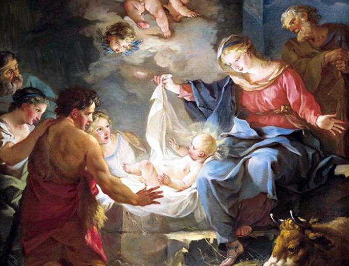 """Jean-Baptiste Marie Pierre (1714–1789), """"The Nativity"""""""