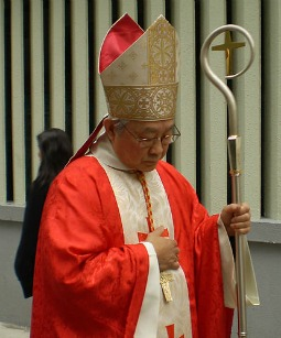 Cardinal Joseph Zen, archbishop emeritus of Hong Kong.