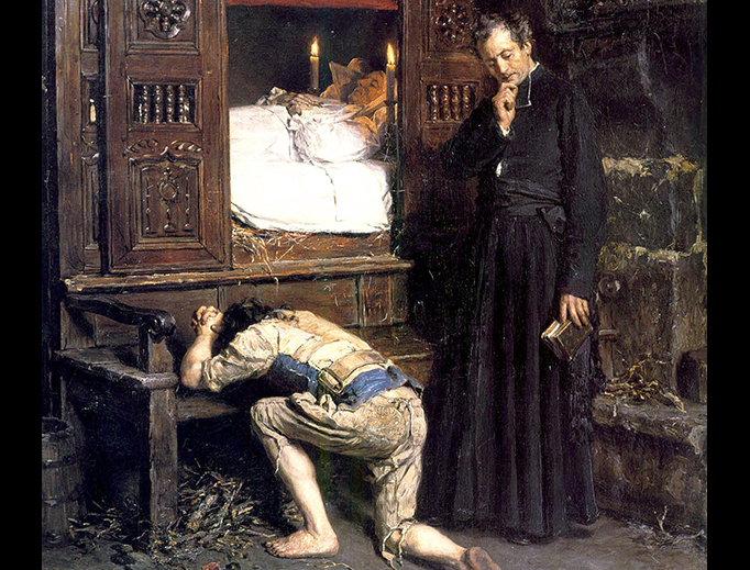 "Henry Mosler, ""The Return of a Prodigal Son"", 1879"
