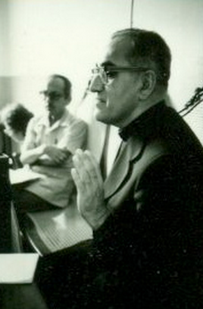 Archbishop Óscar Romero pictured just a few weeks before his death.