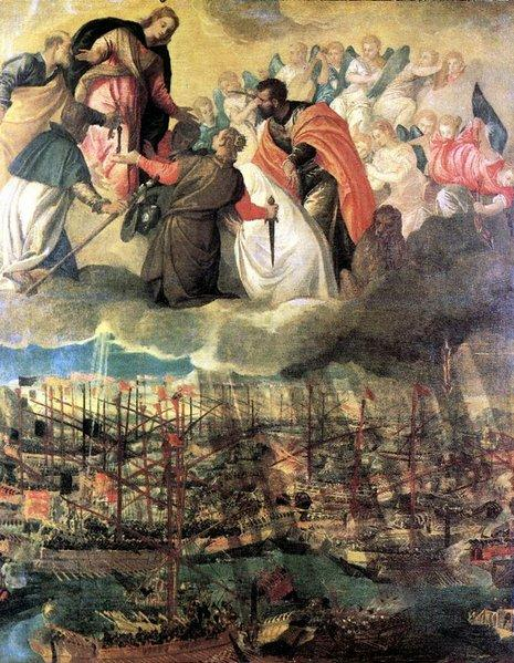 "Veronese's ""Allegory of the Battle of Lepanto."""