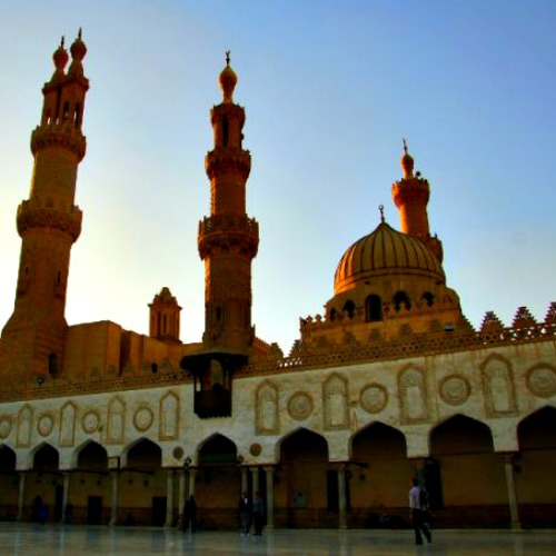 Al-Azhar Mosque in Cairo.