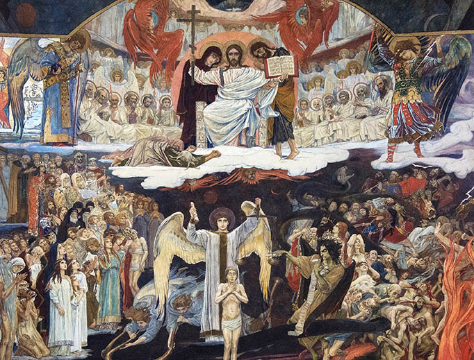 "Viktor Vasnetsov, ""The Last Judgment"", 1904"