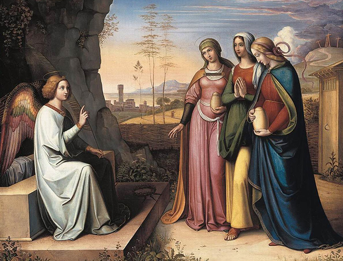 """Peter von Cornelius (1783-1867), """"The Three Marys at the Tomb"""""""