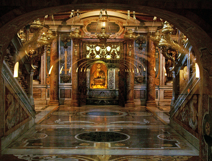 The Tomb of St. Peter