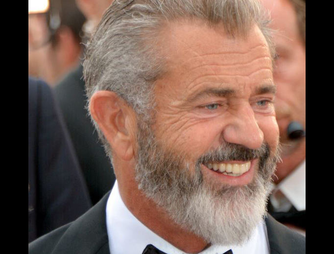 Mel Gibson at the Cannes Film Festival in 2016