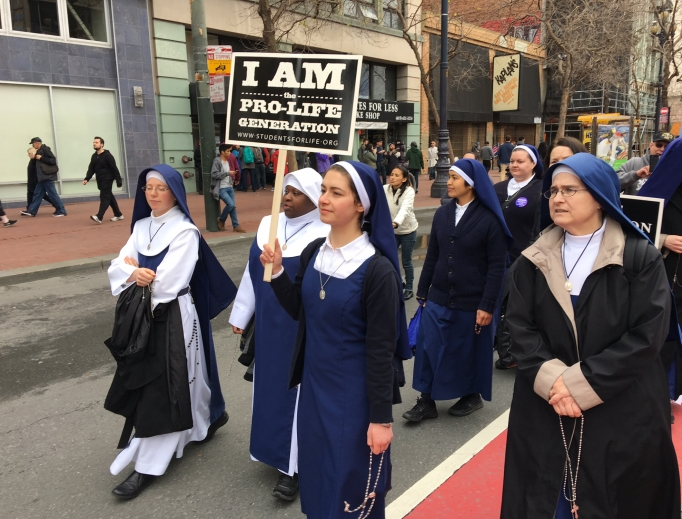 Pro-lifers came out en masse on Jan. 21 to the Walk for Life West Coast.