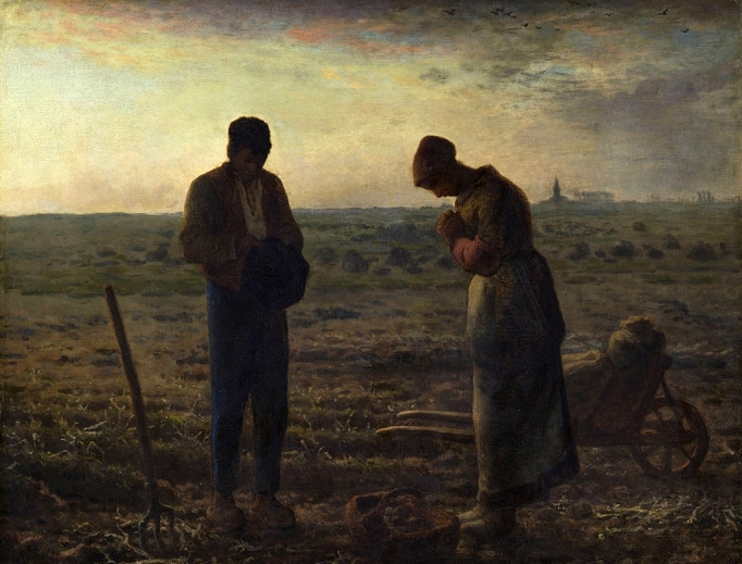 The Angelus (1857–59) by Jean-François Millet