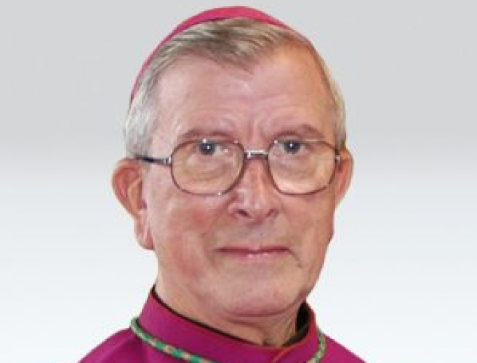 Bishop Vincent Malone died of the coronavirus on May 18, 2020 at the age of 88.