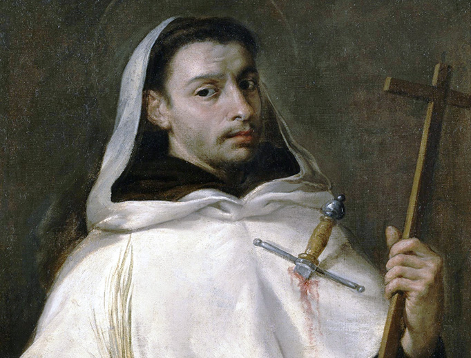 "Antonio de Pereda, ""San Angelo"", c. 1667"