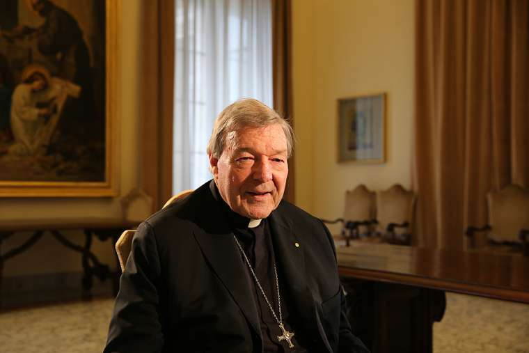 George Cardinal Pell, 17 March A.D. 2016
