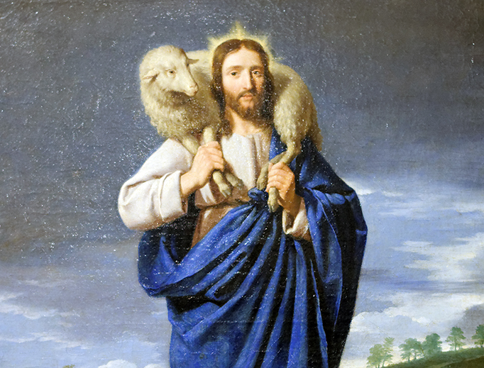 "Philippe de Champaigne (1602-1674), ""The Good Shepherd"""