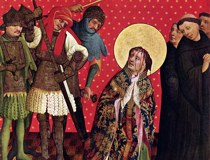 "Master Francke, ""Saint Thomas of Canterbury"" (c. 1424)"