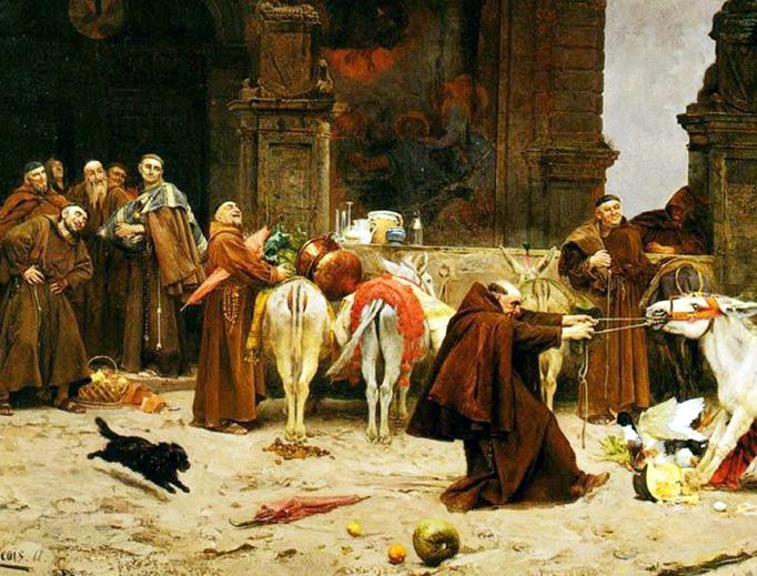 "Eduardo Zamacois y Zabala, ""Taming the Donkey,"" 1868"