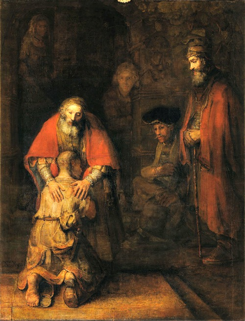 'The Return of the Prodigal Son,' by Rembrandt