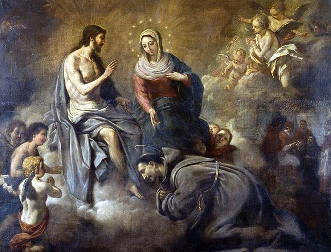 "Antoni Viladomat y Manalt (1678-1755), ""Jesus Gives St. Francis the Portiuncula Indulgence"""