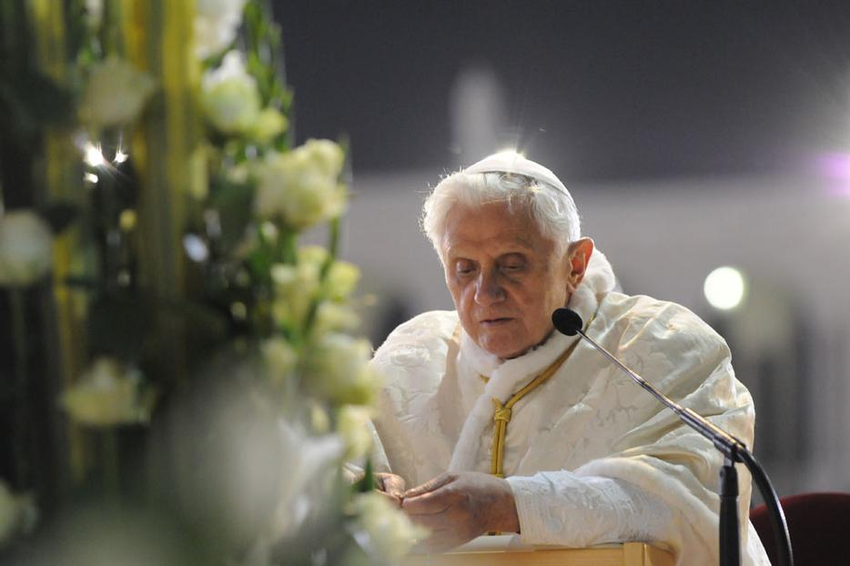 Pope Benedict XVI in Portugal, 2010.