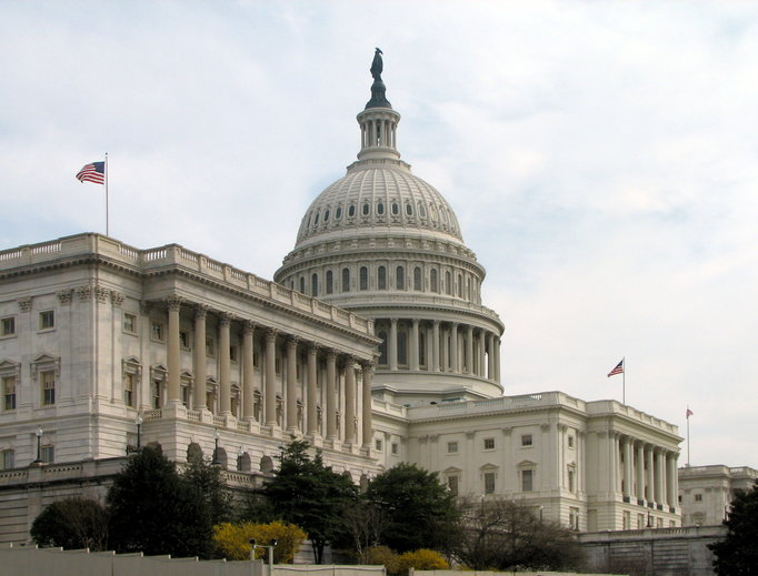 PRO-LIFE MAJORITY IN THE BALANCE. The Senate side of the U.S. Capitol in Washington, D.C., is shown.