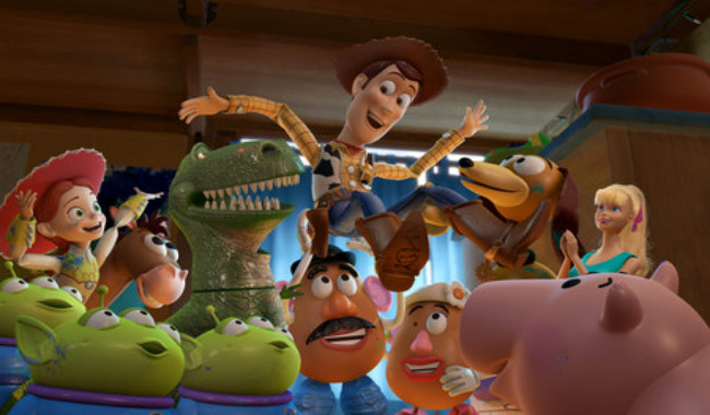 TOP TOY. The third chapter of the Toy Story series gives Woody the chance to be a true-to-self hero.