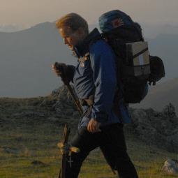 Tom (Martin Sheen) walks Camino de Santiago (The Way of St. James), the famed 497-mile pilgrimage from St. Jean Pied de Port, France, to Santiago de Compostela in Spain in The Way.