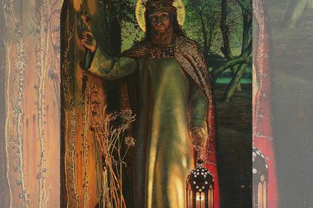 "William Holman Hunt, ""The Light of the World,"" c. 1851-1852"