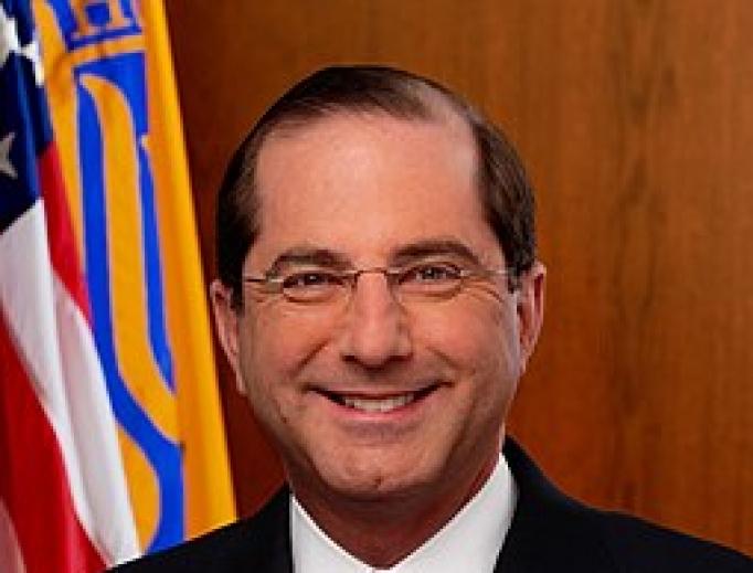 Secretary of Health and Human Services Alex Azar