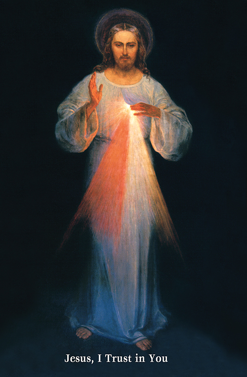 Original image of Jesus the Divine Mercy in Vilnius