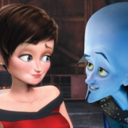 Megamind (Will Ferrell) and Tina Fey's spunky gal reporter named Roxanne Ritchi.