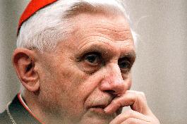 Cardinal Joseph Ratzinger, the architect of Dominus Iesus.