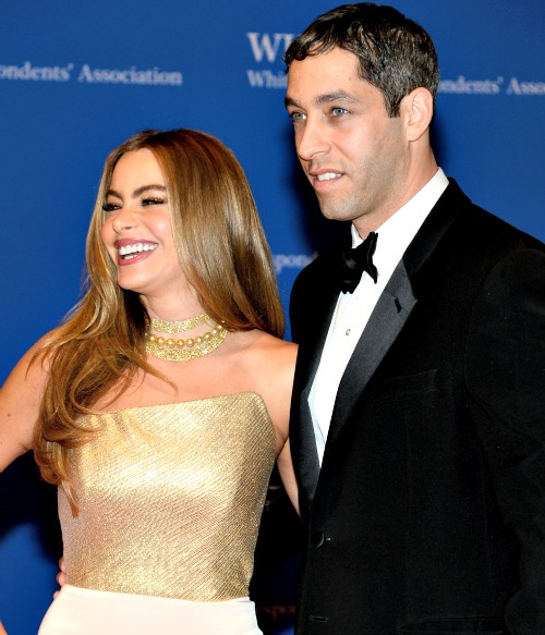 Actress Sofia Vergara and Nick Loeb, shown attending the 100th Annual White House Correspondents' Association Dinner in 2014, are embroiled in a dispute over ownership of frozen embryos the couple conceived via in vitro fertilization.