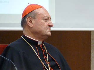 Cardinal Gianfranco Ravasi, president of the Pontifical Council for Culture.
