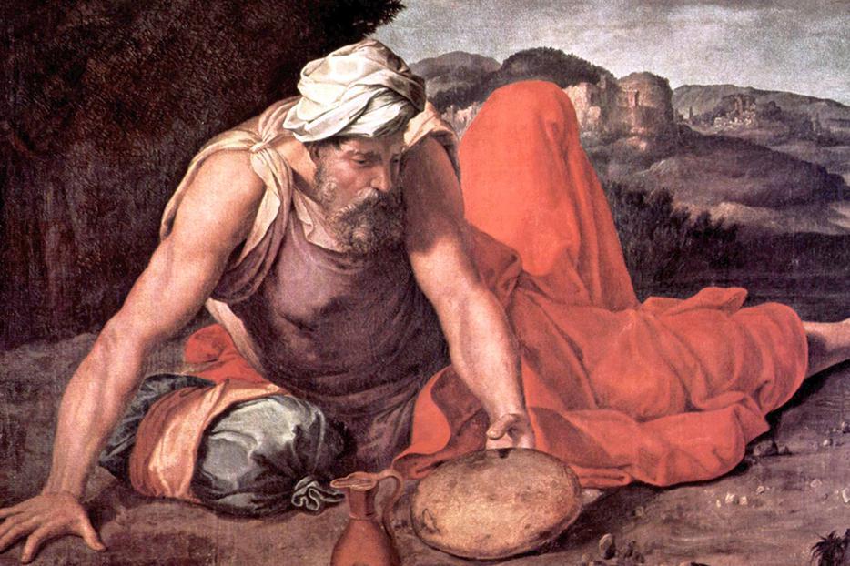 """Daniele da Volterra (1509-1566), """"The Prophet Elijah"""""""