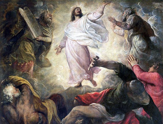 "Titian, ""Transfiguration,"" 1560"