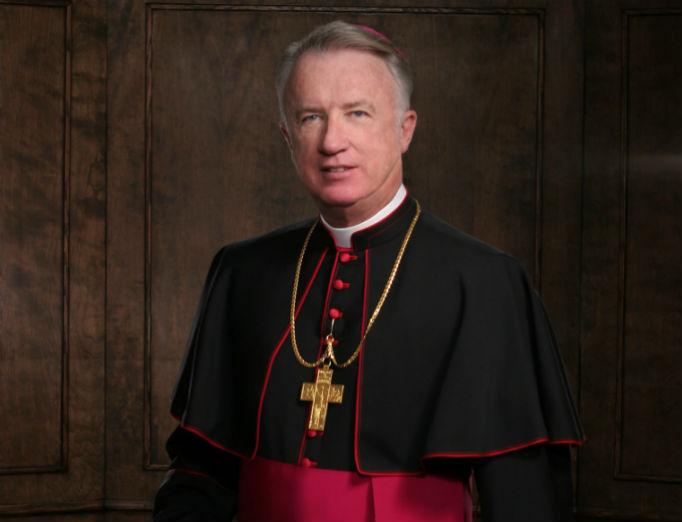 Bishop Michael Bransfield of Wheeling-Charleston, West Virginia.
