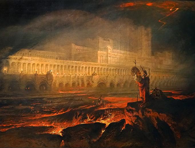 "John Martin, ""Pandemonium,"" c. 1825"