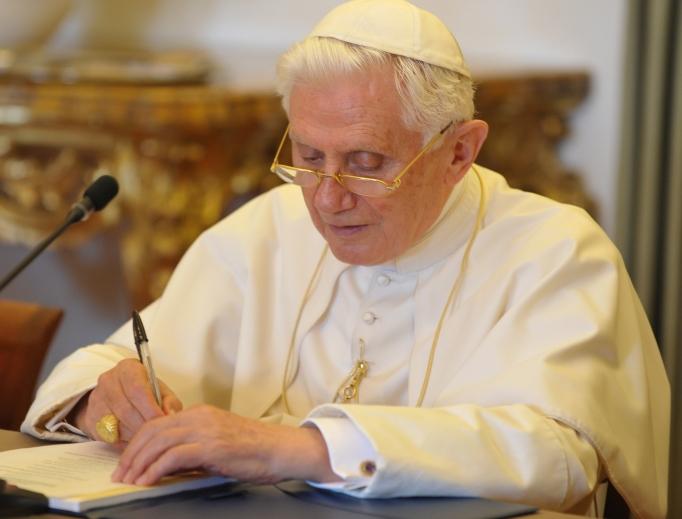 Pope Benedict in 2010