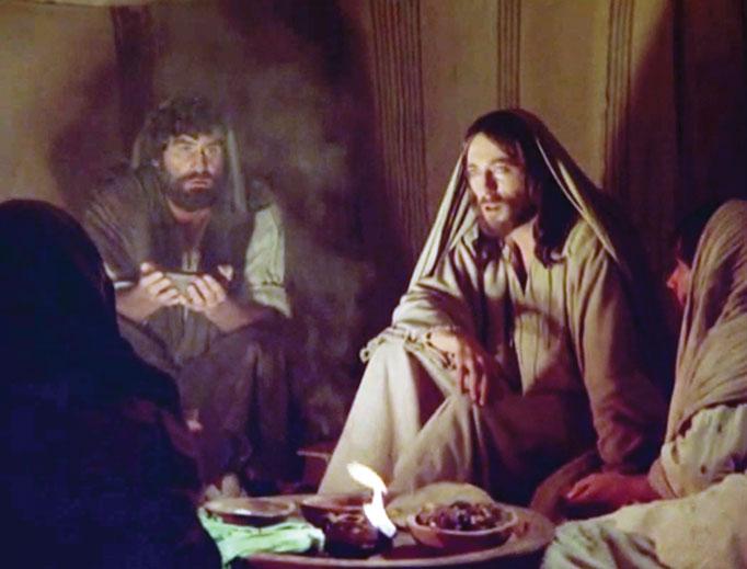 Robert Powell in 1977's Jesus of Nazareth.