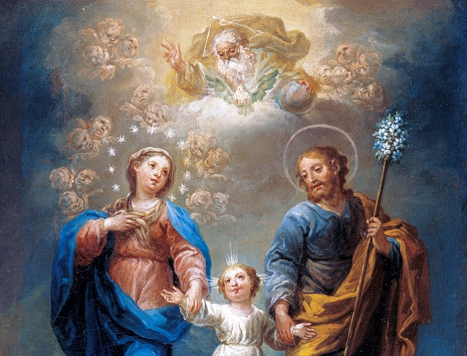 Jerónimo Ezquerra (1660-1733), The Trinity of the Earth