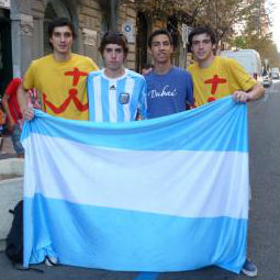 World Youth Day Pilgrims from Argentina