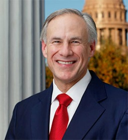 Gov. Gregg Abbott of Texas.