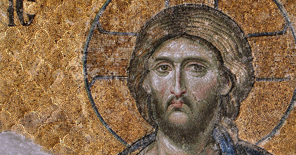 Christ Pantocrator from Hagia Sophia. By Dianelos Georgoudis [CC BY-SA 3.0 (http://creativecommons.org/licenses/by-sa/3.0)], via Wikimedia Commons.