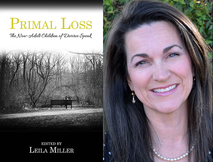 Author Leila Miller and the cover of her latest book.