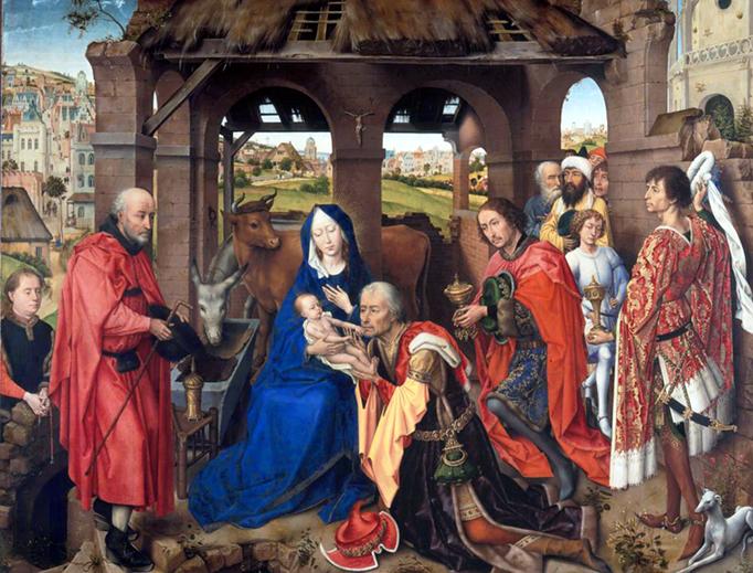 """Rogier van der Weyden, """"Saint Columba Altarpiece"""", c. 1455"""